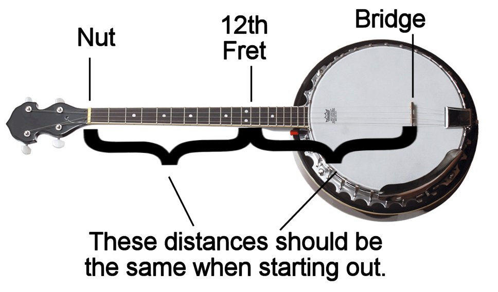 Setting up a Four-String Banjo