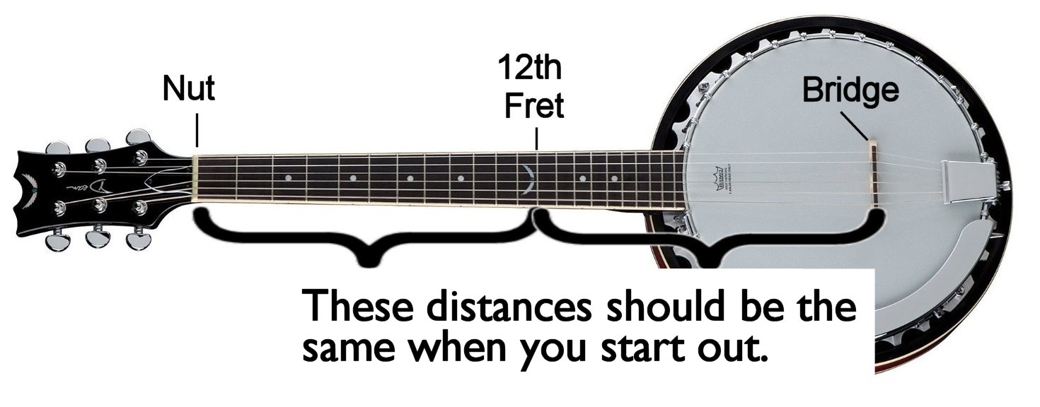 Setting Up A Six String Banjo